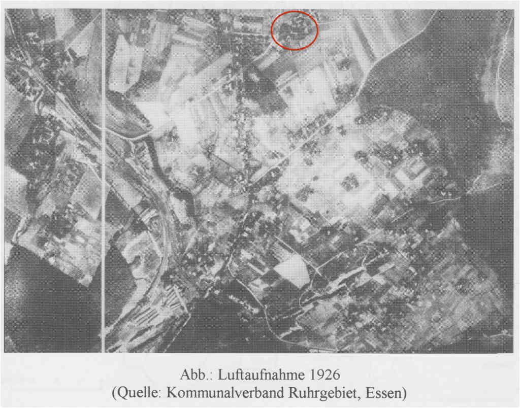 Luftaufnahme Truxhof 1926