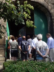 Einlass zum Tag des offenen Denkmals Truxhof